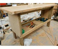 Heavy Handmade Workbench