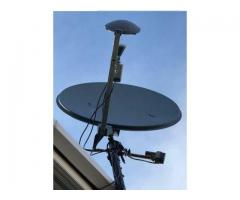MOTERISED SATELLITE DISH ALUMINIUM