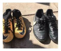 Football boots and trainers size 5/5.5