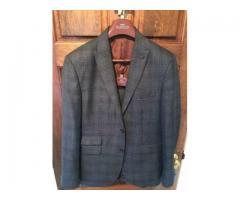 Next Men's Tailored Fit Suit 40S