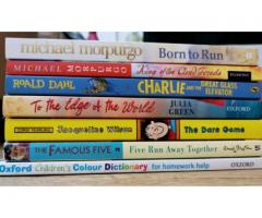 6 books+dictionary for children
