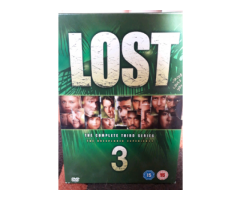 Lost season 3 DVD box set.