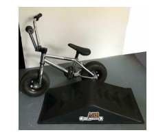 Chrome mini rocker bmx