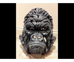 Edge Sculpture - Gorilla Bust - Brand New