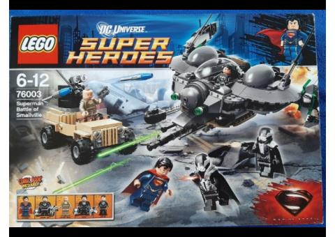 LEGO DC Comics Super Heroes 76003 Superman Battle of Smallville 100% Complete