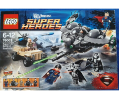 LEGO DC Comics Super Heroes 76003 Superman Battle of Smallville 100% Complete