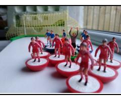 Premier football reds Subbuteo