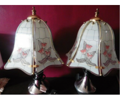 2 x Matching Bedroom Table Lamps