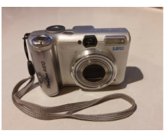Canon A610 Powershot 5.0Mp Digital Camera + Video Recorder