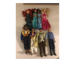 Disney store doll bundle