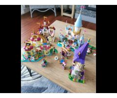 Lego Disney castles